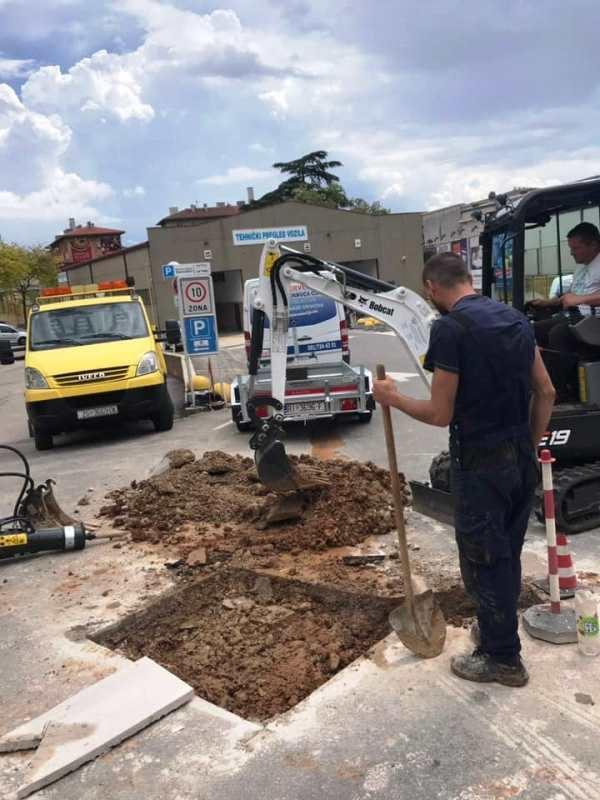 iskopi mini bagerom Rijeka i okolica